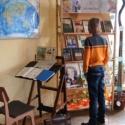 Книжно-предметная ретровыставка «Школьные годы чудесные»