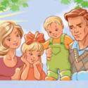 Филворд «Жила-была семьЯ»